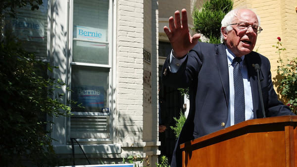 Bernie's Strategy Between Now & Philly